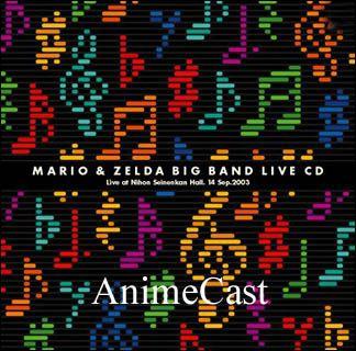 Super Mario Bros & The Legend of Zelda Nintendo BIG BAND LIVE Music CD