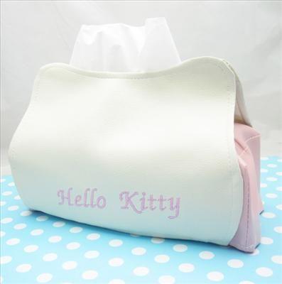 Cutie Cute Hello Kitty Tissue Kleenex Box Cover Holder