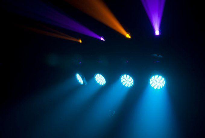 4BAR FLEX LED RGB DMX Mountable Sound Activated DJ Light Effect System
