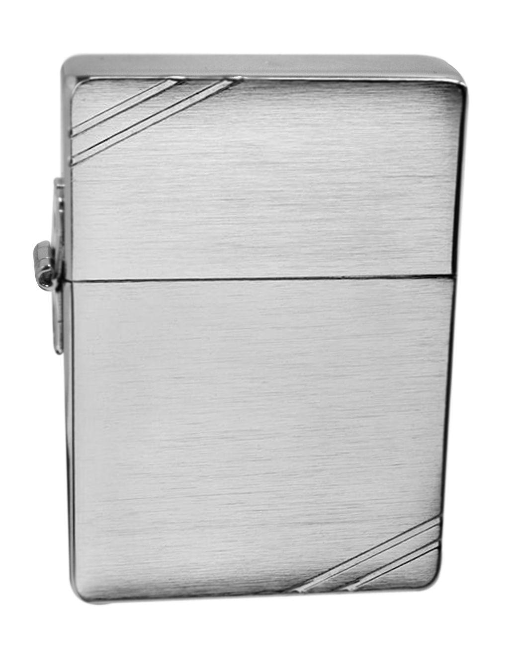 watch white zippo zippo lighter 1935 replica brushed chrome windproof