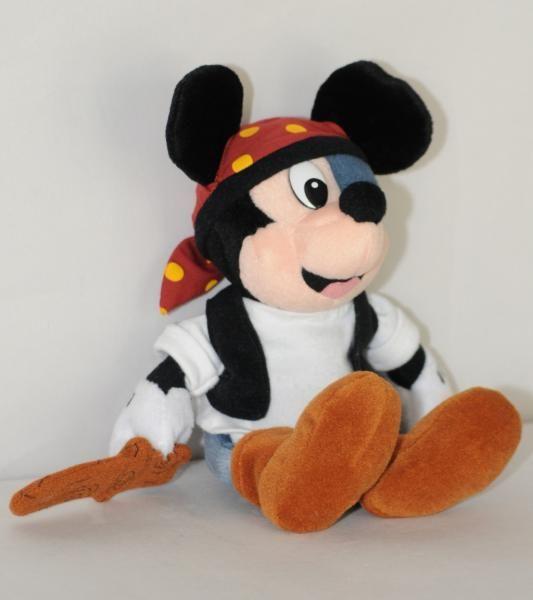 acheter mieux vraiment à l'aise plus tard En En Écharpe Cache Cache Mickey Pirate De Forme Peluche ...