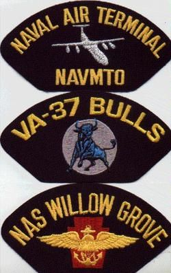 US Navy Baseball Cap Hat Patch Attack Squadron VA 37 Bulls USN Naval