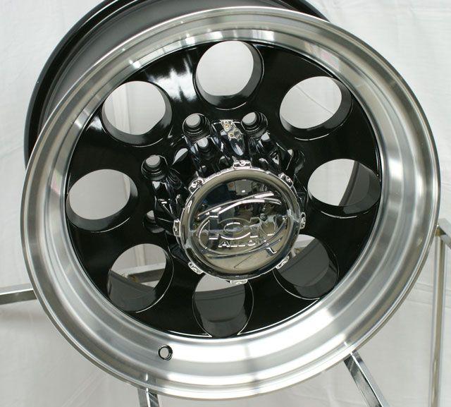 15 ion 171 Wheels Rims Black Tundra 4Runner FJ Cruiser