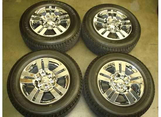 18 Toyota TACOMA Limited CHROME Wheels RIMS Tires OEM FACTORY 4Runner
