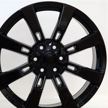 22 Black Rim Fits Cadillac Escalade Wheel Rim GM GMC Chevy Murdered
