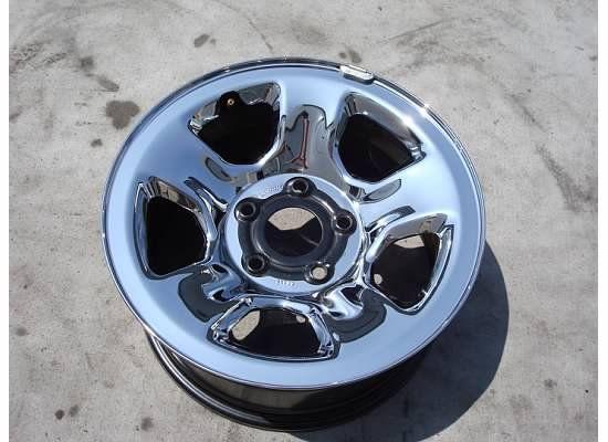 17 Dodge RAM 1500 Chrome Steel Wheel Rim SLT St 02 11 Factory Clad 03