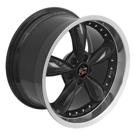 10 Black Bullitt Wheels Bullet Rims Fit Mustang® GT 94 04