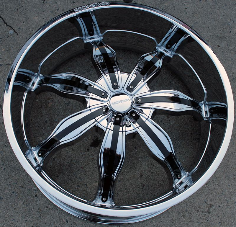 RVM 615 24 Chrome Rims Wheels BMW 645 650 Caprice