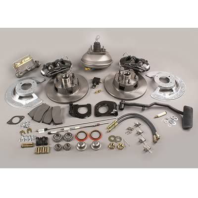 Stainless Steel Brakes A121 1 Disc Brakes, Front, Solid Surface Rotors