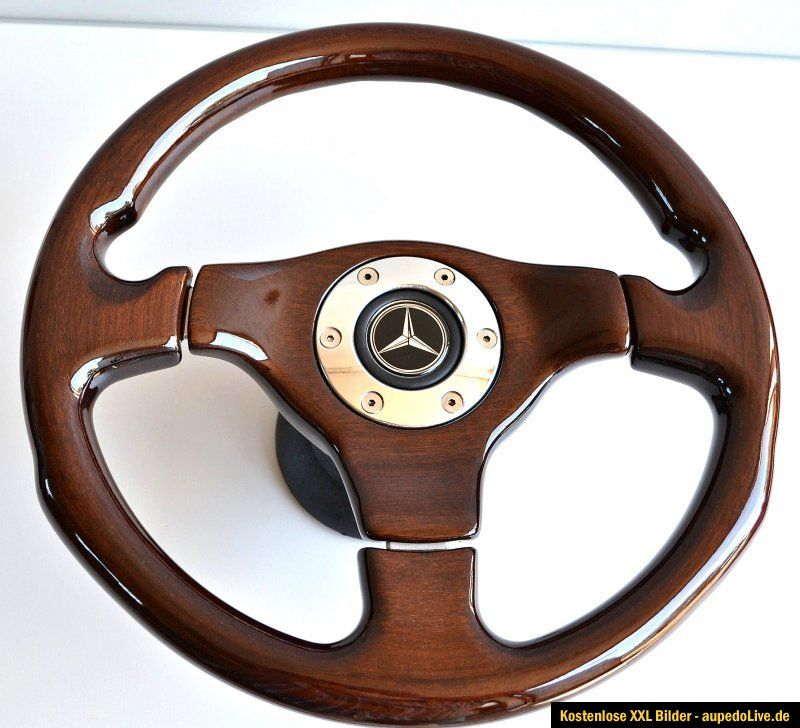 Nardi Holz Lenkrad Mercedes Wood Steering Wheel Volante Volant w 107