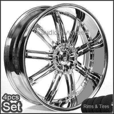 20 Wheels Tires Rims Lexus Altima Montecalo Impala