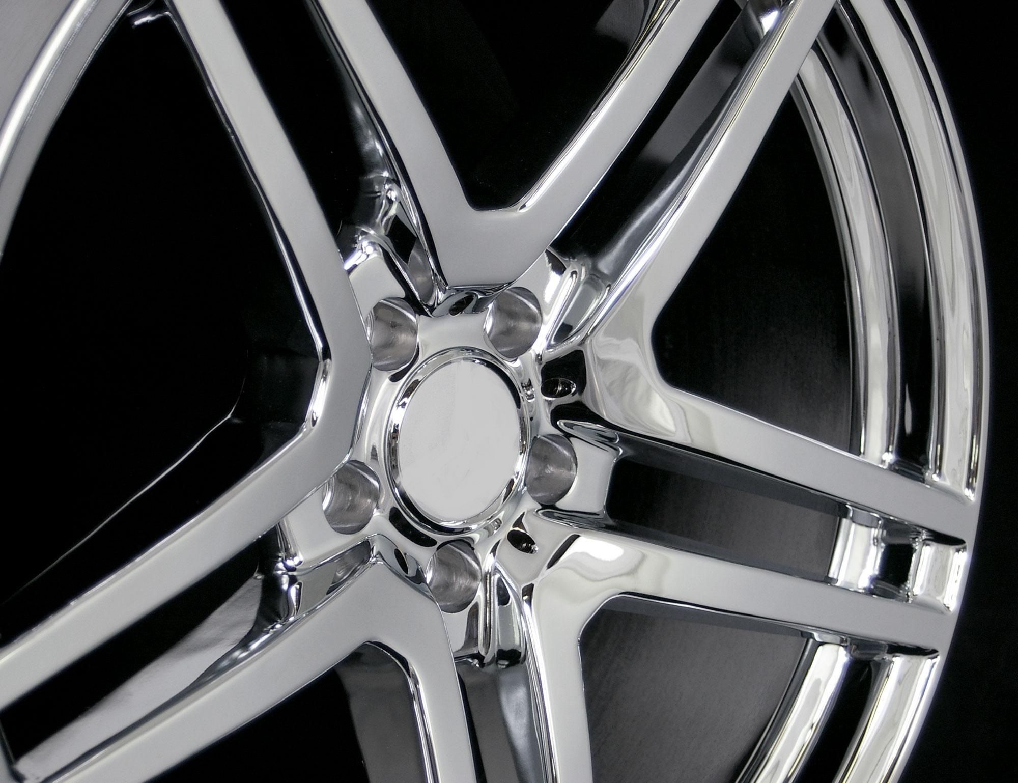 20 AMG Style Chrome Finish Wheels Rims Fit Mercedes E W210 W211 W212