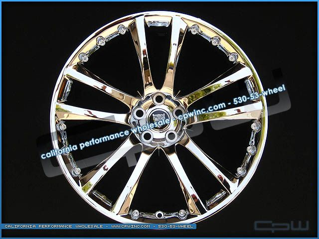 Sentaii Chrome 20 inch Wheels Rims Fit Jaguar XJ XJL Supercharged