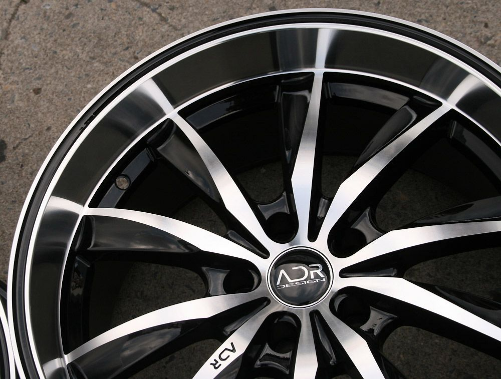 ADR INSPIRE 19 BLACK RIMS WHEELS MERCEDES CLS 63 AMG / 19 X 8.0/10 5H