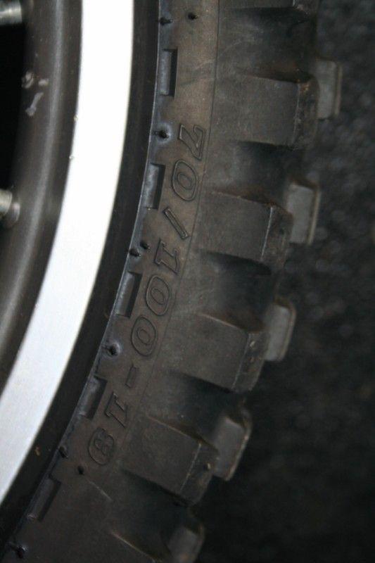 Honda CR85 CR 85 Expert Front Wheel Hub Rim Spoke 19
