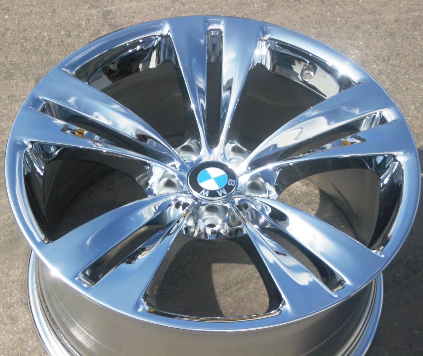 20 BMW 535i 550i GT Style 316 Factory Chrome Wheel Rim 71378 1 Single