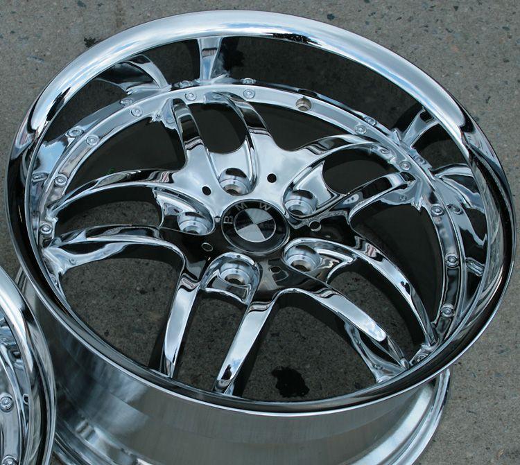 RVM 330 18 Chrome Rims Wheels Chevy Camaro Staggered