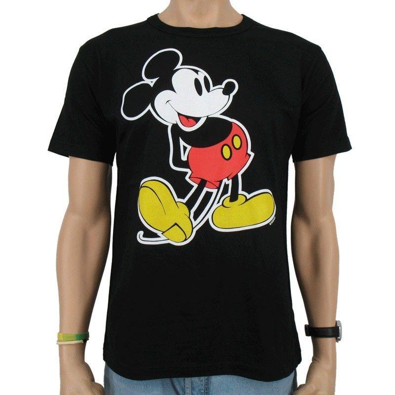 Logoshirt   Disney Mickey Mouse Classic T Shirt, black