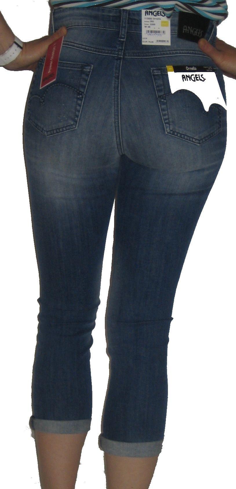 Angels Jeans Ornella 113685 Short 7/8 Hose Stretch 360
