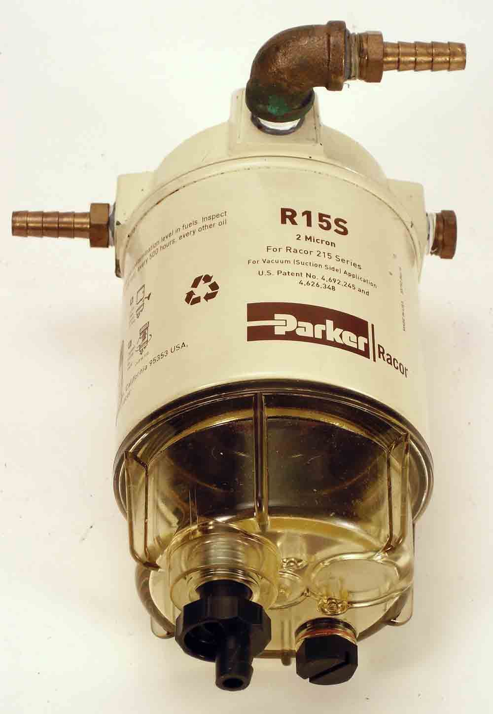 Racor R15s Fuel Filter Water Separater Alliance Separator