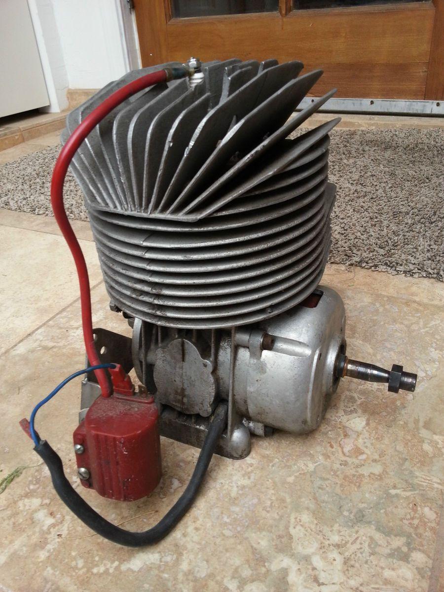 Vintage Kart Engine 8