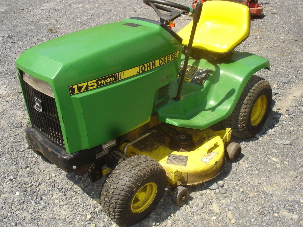 Rebuilt Lawn Tractor Engines : Used john deere hydro lawn tractor engine is locked