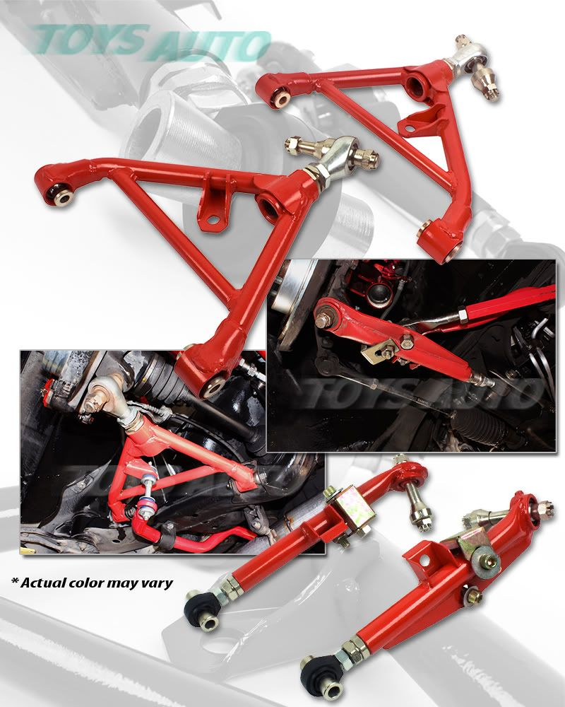 GSP 4pc Front + Rear Lower Control Arm 300zx Z32 240sx S13 S14 S15